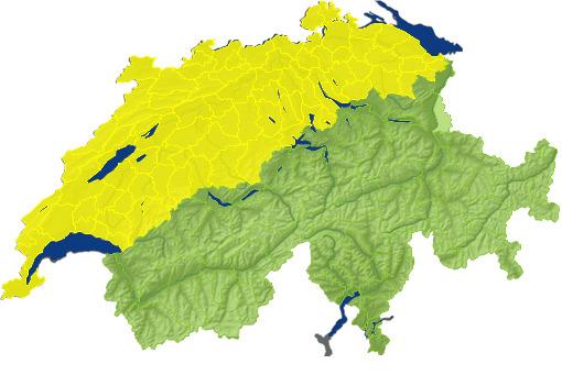 Karte Wetteralarm
