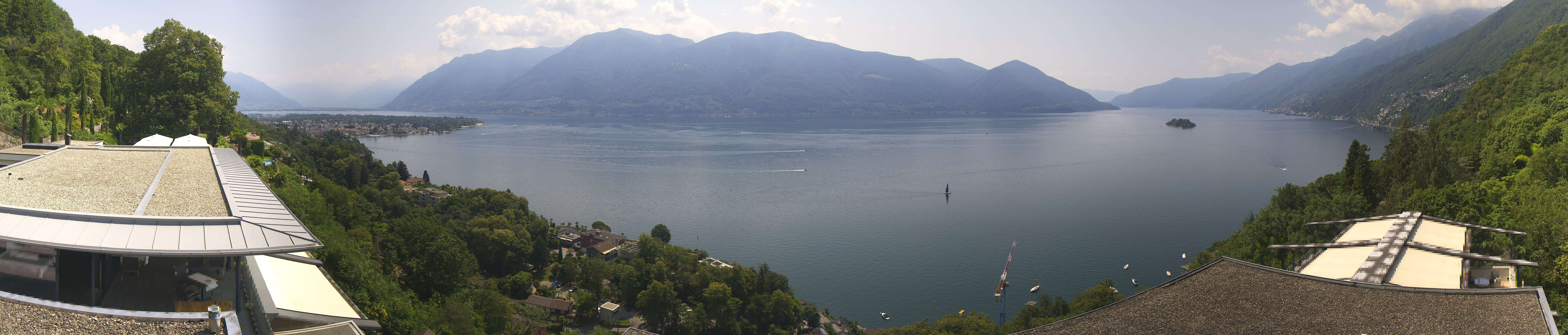 Livecam Ascona Hotel Casa Berno
