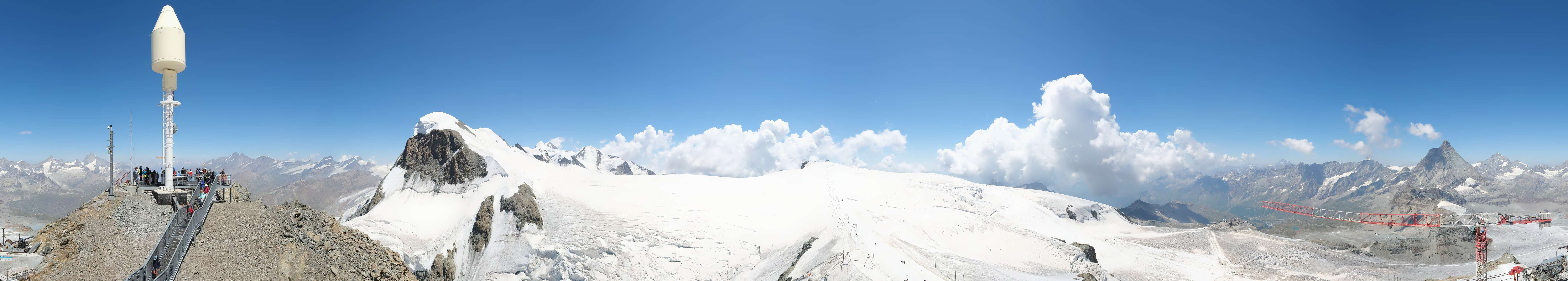 Livecam Matterhorn Glacier Paradise