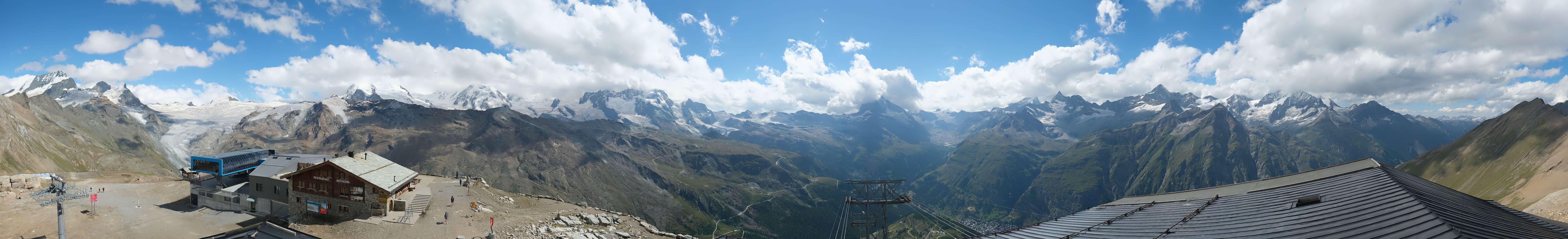 Livecam Zermatt Rothorn