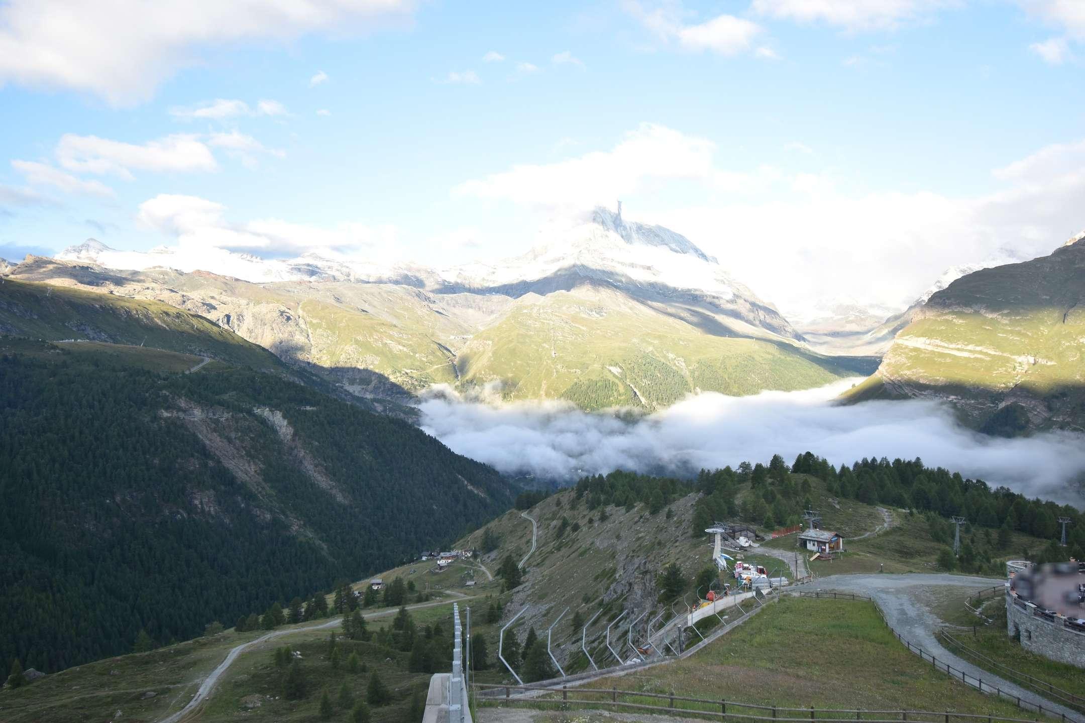 Webcam Zermatt Sunegga
