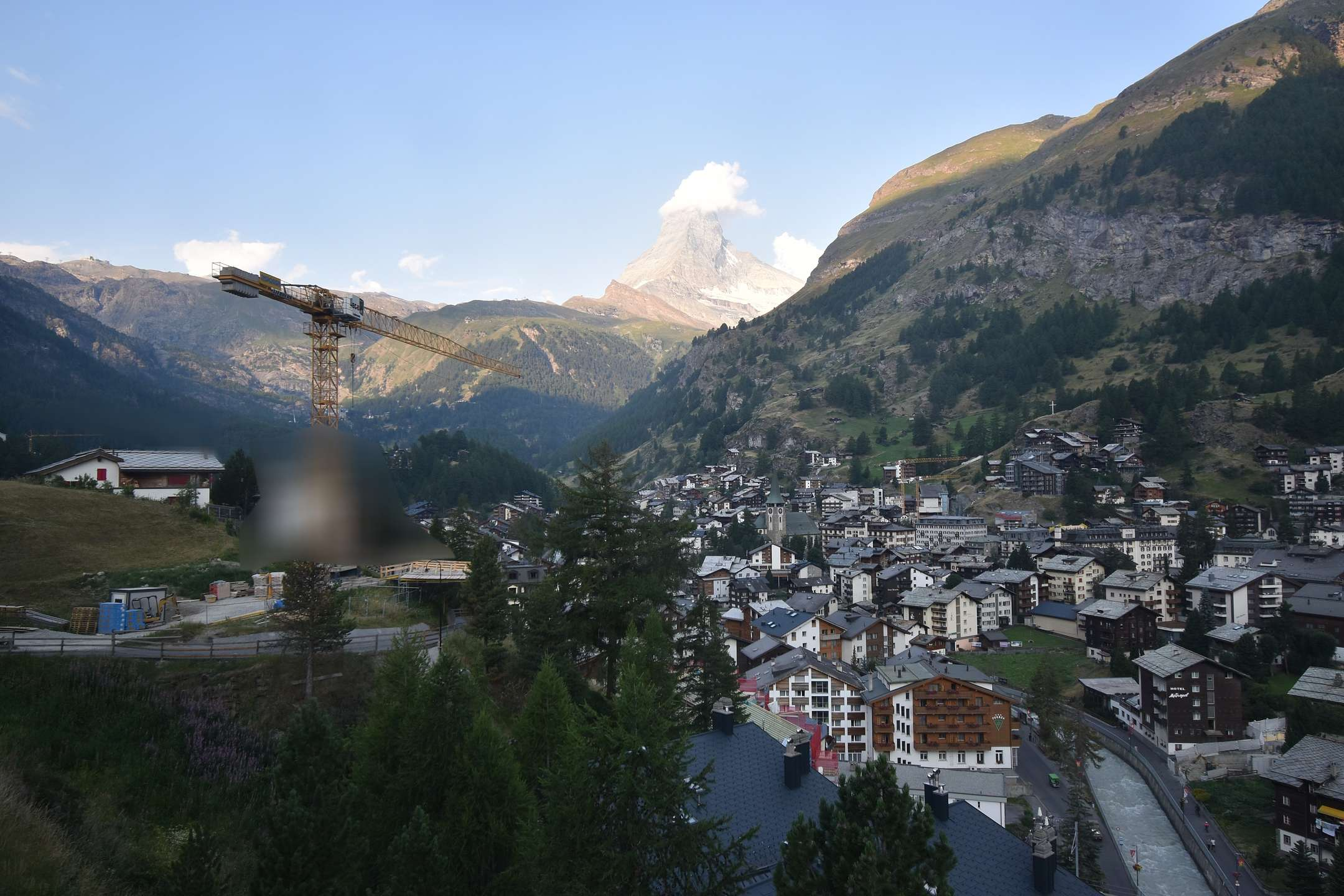 Webcam Zermatt Schönegg Hotel