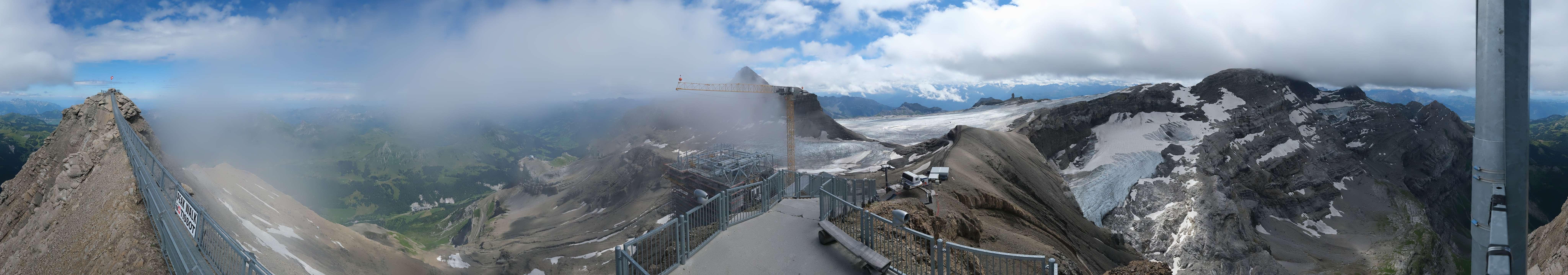 Livecam Les Diablerets, Glacier 3000